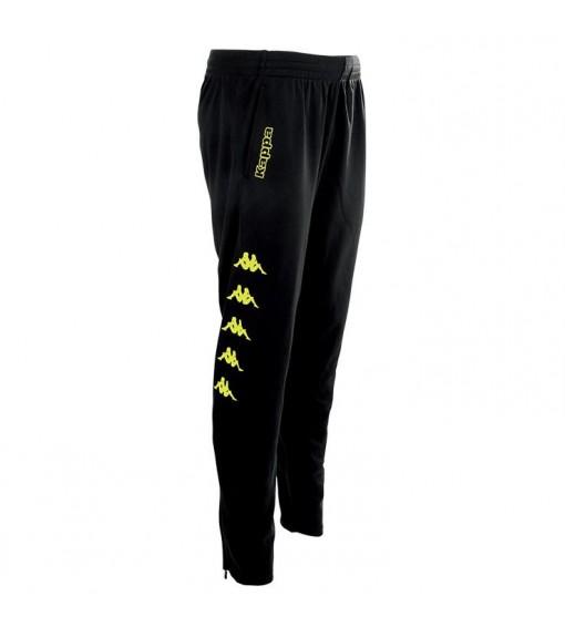 Kappa Men's Trousers Pagino Black/Yellow 303L660_906 | Long trousers | scorer.es