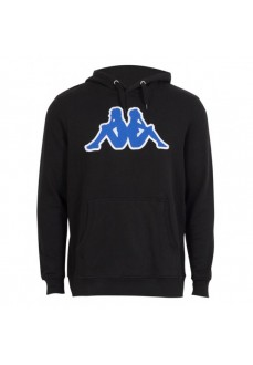 Kappa Men's Sweatshirt Ariti Logo Hoodie Black 3032BY0_937
