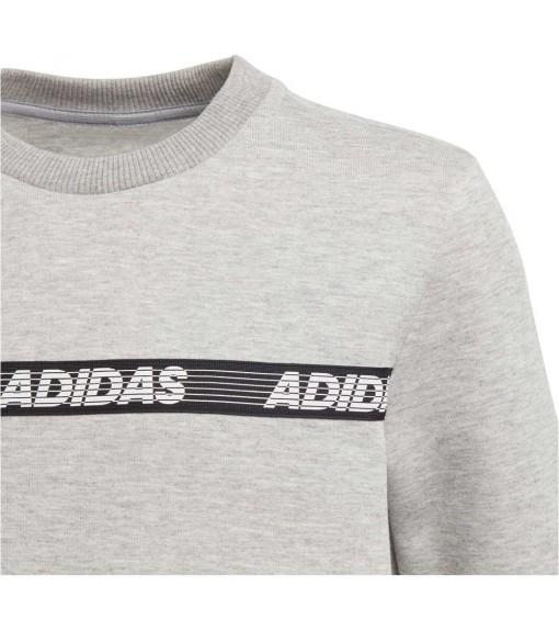 Sudadera Niño/a Adidas Yb Sid Br Crew Gris FK4821 | scorer.es