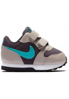 Nike Kids' Trainers MD Runner 2 Gray/Blue 806255-017 | No laces | scorer.es