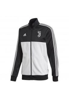 Sudadera Hombre Adidas Juve 3S Blanco/Negro DX9204