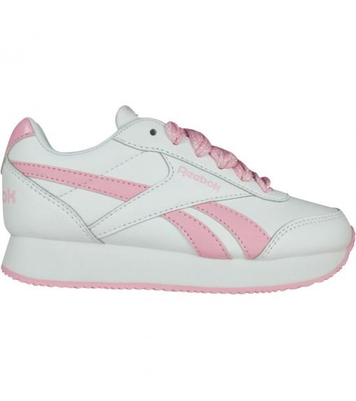 Reebok Girl's Trainers Royal Glide White/Pink DV9044 | Low shoes | scorer.es