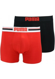 Boxer Puma Placed Logo Black/Red 651003001-786