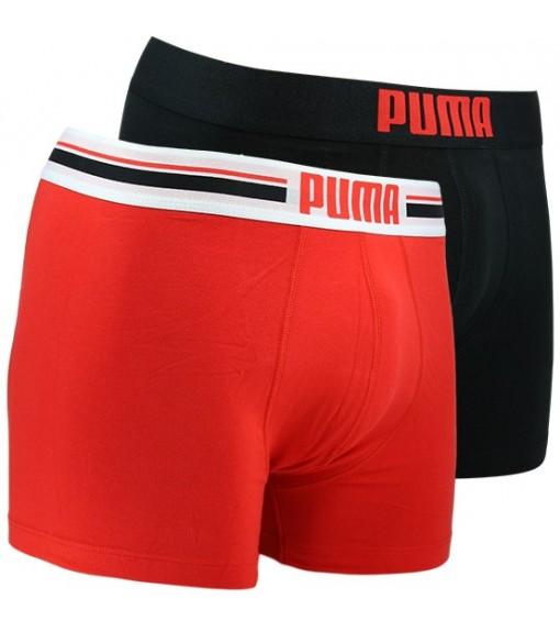 Boxer Puma Placed Logo Negro/Rojo 651003001-786 | scorer.es