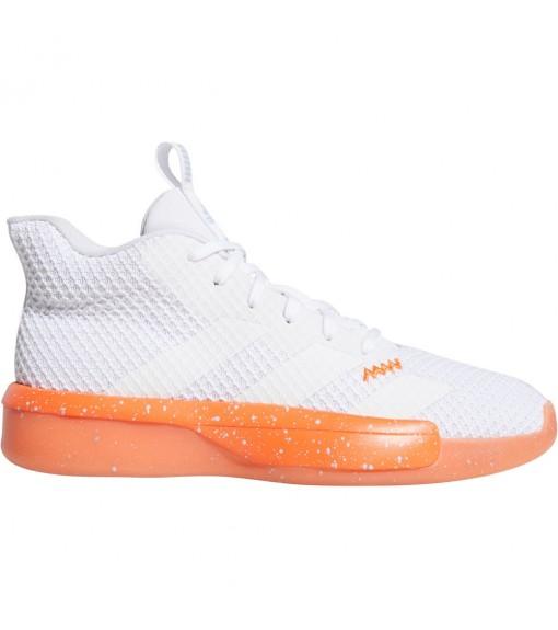 Adidas Men's Trainers Pro Next 2019 White/Orange EF0475 | Basketball shoes | scorer.es