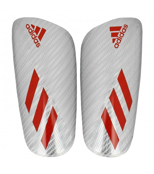 Adidas Shin Guards X Pro Gray/Red DY0075 | Football accessories | scorer.es