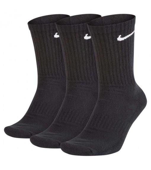 Calcetines Nike Everyday Cushion Crew Negro SX7664-010 | scorer.es