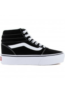 Vans Women's Trainers Ward Hi (Canvas) Black VN0A4BUC1WX1