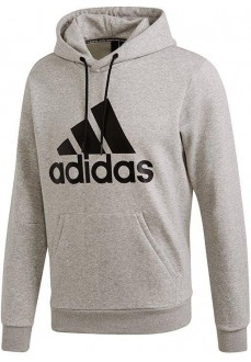 Sudadera Hombre Adidas Must Haves Badge of Sport Gris DT9946