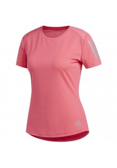 Camiseta Mujer Adidas On The Run Tee Rosa DZ2270