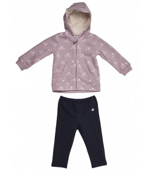 Champion Infant's Front Zip Tracksuit Lilacc/Navy Blue 403712 VL003 | Kid's Tracksuits | scorer.es