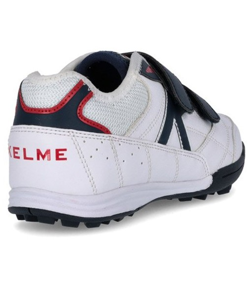 Kelme Kids' Trainers Turf White/Red 55916-140   Football boots   scorer.es