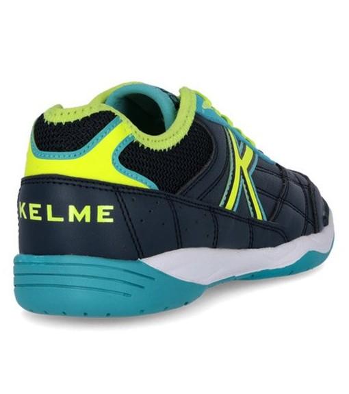 Kelme Kids' Trainers Indoor Navy Blue/Turquoise 55918-358 | Football boots | scorer.es