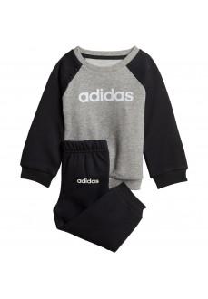Chándal Niño/a Adidas Linear Fleece Jogger Gris/Negro DV1266