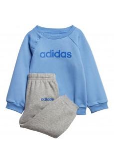 Chándal Niño/a Adidas Linear Fleece Jogger Azul/Gris EI7963