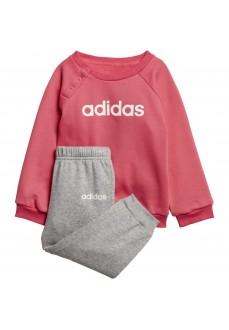 Chándal Niña Adidas Linear Fleece Jogger Rosa/Gris EI7962 | scorer.es