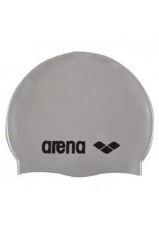 Arena Swim Cap Classic Silicone Gray 0000091662 051
