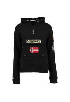Sudadera Hombre Norway Gymclass Negro WR432H | scorer.es