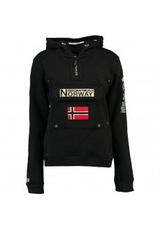 Norway Women's Sweatshirt Gymclass Lady Black WR863F | Sweatshirt/Jacket | scorer.es