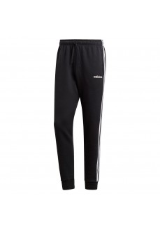 Pantalón Largo Hombre Adidas Essentials 3-Stripes Tapered Cuffed Negro