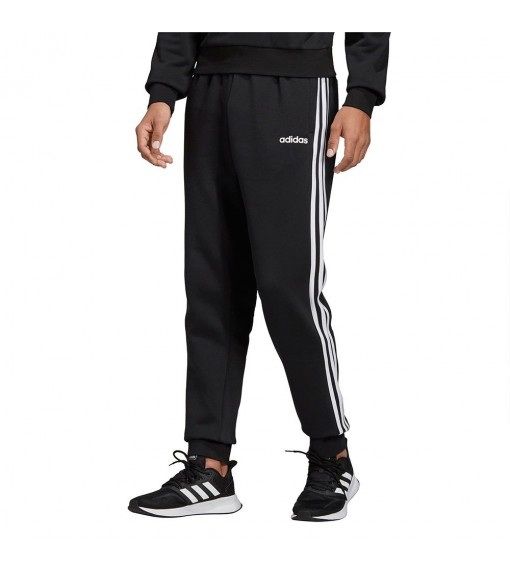 Pantalón Largo Hombre Adidas Essentials 3-Stripes Tapered Cuffed Negro | scorer.es