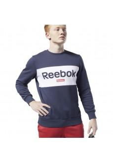 Sudadera Hombre Reebok Jersey Training Essentials Linear Logo FI2873 | scorer.es