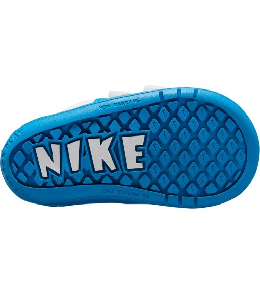 Nike Kids' Trainers Pico 5 White/Blue AR4162-103 | No laces | scorer.es