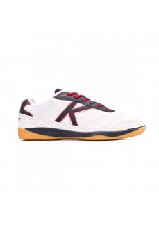 Kelme Men's Trainers Indoor Football White/Red 55905.140