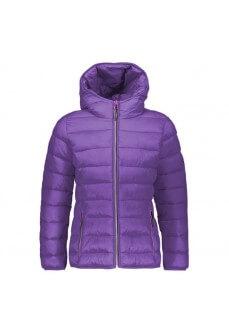 Abrigo Niña Campagnolo Jacket Fix Hood Morado 39Z0135-H310