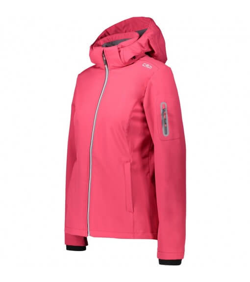 Campagnolo Women's Sofshell Zip Hood Fuchsia 39A5006 H856   Jackets/Coats   scorer.es