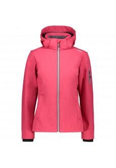 Campagnolo Women's Sofshell Zip Hood Fuchsia 39A5006 H856 | Jackets/Coats | scorer.es