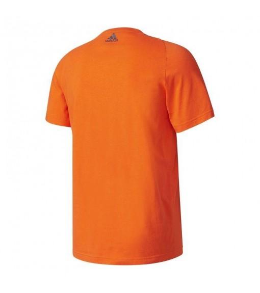 Camiseta Adidas Essentials Linear Naranja | scorer.es