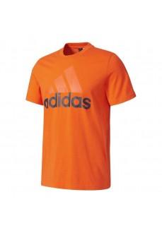 Camiseta Adidas Essentials Linear Naranja