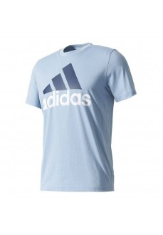 Camiseta Adidas Essentials Linear Azul