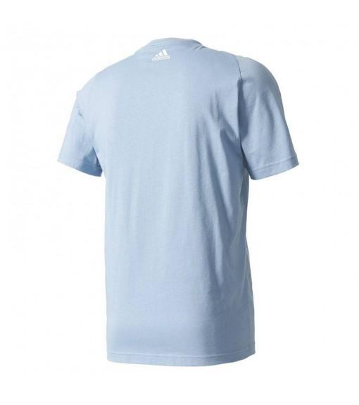 Camiseta Adidas Essentials Linear Azul | scorer.es