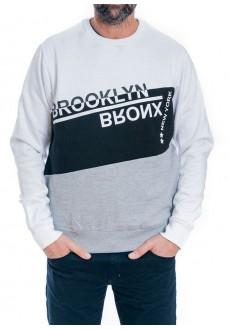Koalaroo Men's Sweatshirt Faixa White/Black/Gray A9210506P