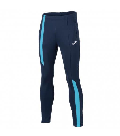 Joma Men's Trousers SuperNova Navy Blue/Turquoise 101286.342 | Long trousers | scorer.es