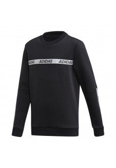 Sudadera Niño/a Adidas Id Crew Sweatshirt Negro FK4820