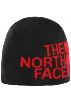 The North Face Cap Reversible Banner Beanie Black/Red T0AKNDHX9