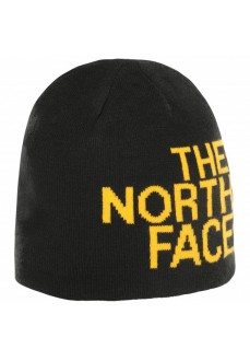 The North Face Cap Reversible Banner Beanie Black/Yellow T0AKNDHY0