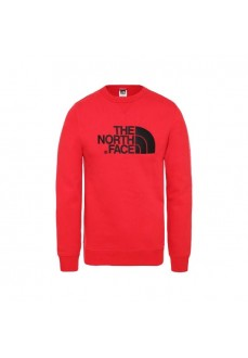 Sudadera Hombre The North Dreaw Peak Crew Rojo T92ZWR682 | scorer.es