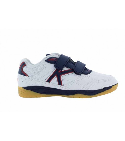 Kelme Kids' Trainers Indoor White/Red 55917-140 | Football boots | scorer.es