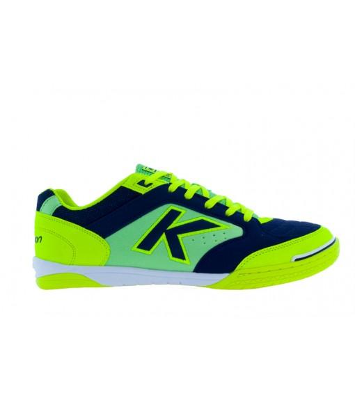 Kelme Men's Trainers Precision Indoor Football Yellow/Navy Blue 55211.222 | Football boots | scorer.es