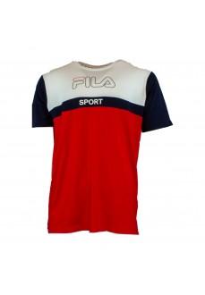 Camiseta Hombre Fila Rojo/Marino/Blanco 682859   scorer.es