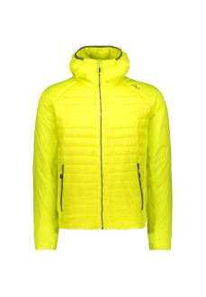 Campagnolo Men's Coat Zip Hood Zolfo Yellow Fluor 39Z0457 E359