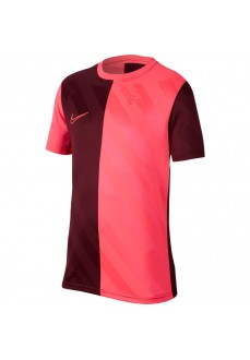Camiseta Niño/a Nike Dri Fit Academy Top Granate/Rosa BQ7465-681   scorer.es