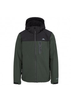 Trespass Men's Softshell Hebron II Black/Green MAJKSSO10003 OLI