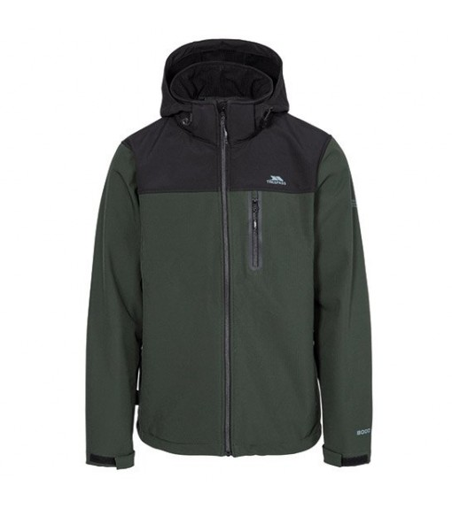 Trespass Men's Softshell Hebron II Black/Green MAJKSSO10003 OLI | Jackets/Coats | scorer.es