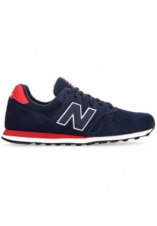 New Balance Men's Trainers Navy Blue/Red ML373-MBT | Low shoes | scorer.es
