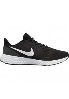 Zapatillas Hombre Nike Revolution 5 Negra/Blanca BQ3204-002